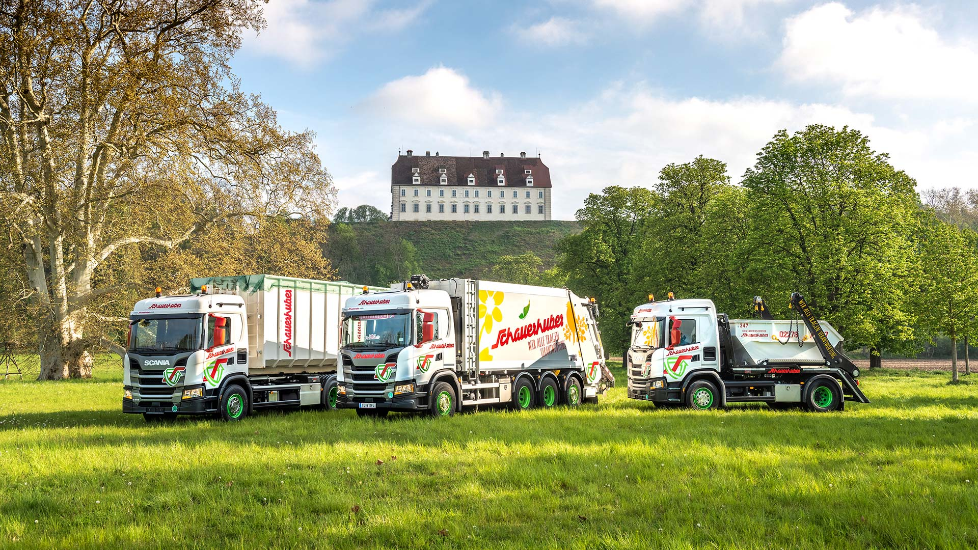 Neue LKW-Flotte